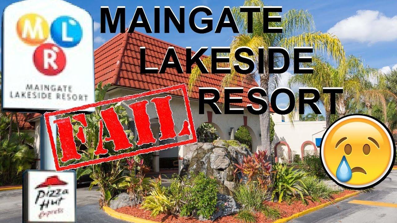 Maingate Lakeside Resort Hotel Orlando Florida🏞😥👎 Youtube
