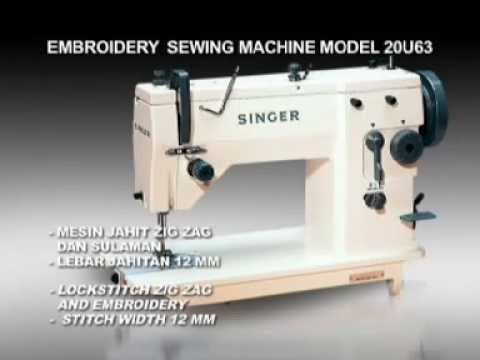 Singer Malaysia Sewing Machine Model 20U63A