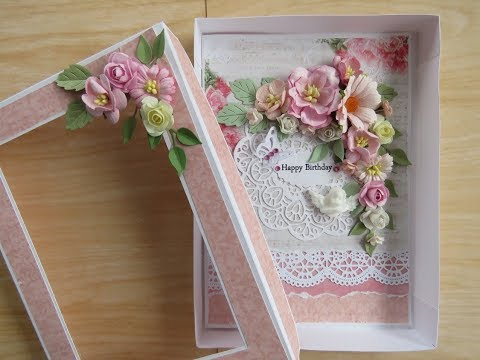 Box for floral card