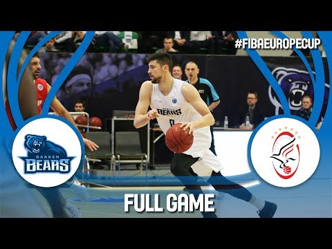 Bakken Bears (DEN) v Szolnoki Olaj (HUN) - Full Game - FIBA Europe Cup 2017-18