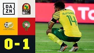 Bafana Bafana muss nach Last-Minute-Treffer zittern: Südafrika - Marokko 0:1 | Gold Cup | DAZN