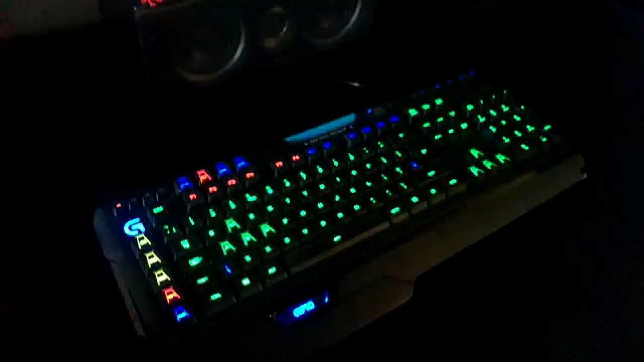Logitech G910 GTA V Wanted Light Show