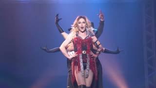 Ambição Loira de Sarah Mitch no Cine Teatro Cuiabá. Dancers: Ramer ...