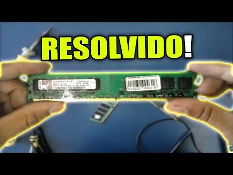 Conserto De Memoria Ram Como Recuperar Memoria Ddr 2 Youtube