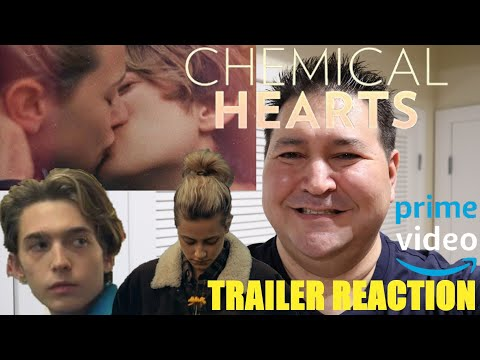CHEMICAL HEARTS Trailer Reaction, Amazon Prime Video