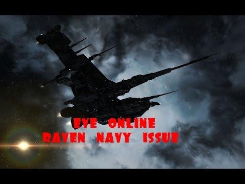 Eve online Raven navy issue - аннигилятор неписи