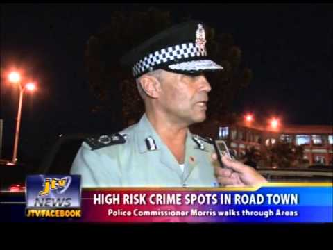 HIGH RISK CRIME SPOTS IN ROAD TOWN