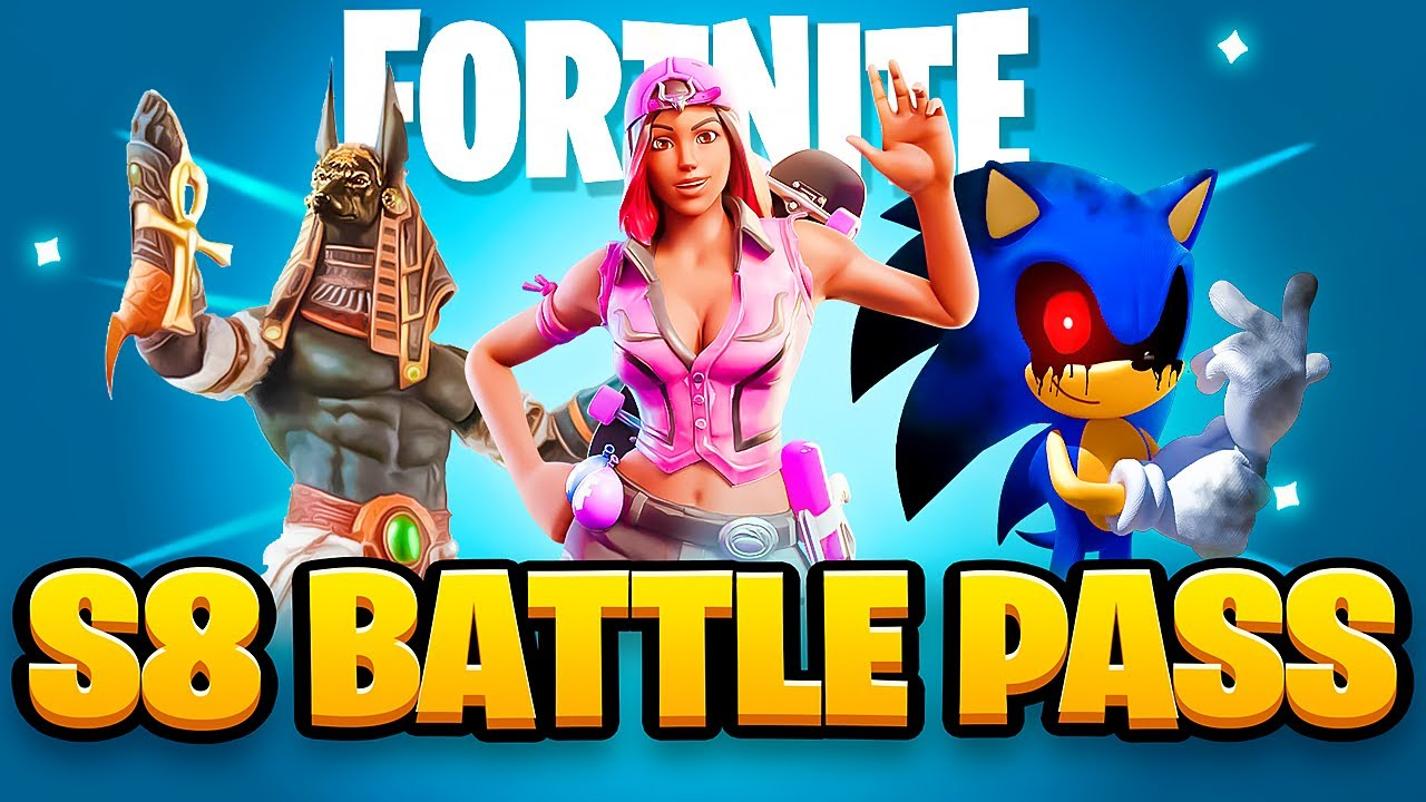 Download We Made OUR OWN Season 8 BATTLE PASS! (Fortnite Chapter 2)
