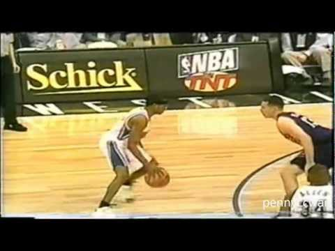 Allen Iverson 19pts vs Kobe Bryants MVP in 1997 NBA Schick Rookie Challenge *The Best Draft ever