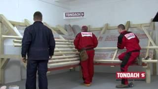 Монтаж керамической черепицы TONDACH  Подготовка к монтажу