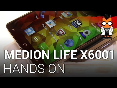 Medion Life X6001 Phablet im Hands on [deutsch]