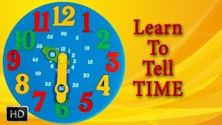 Educational Kids Games - Learn to Tell Time Cat Part 1