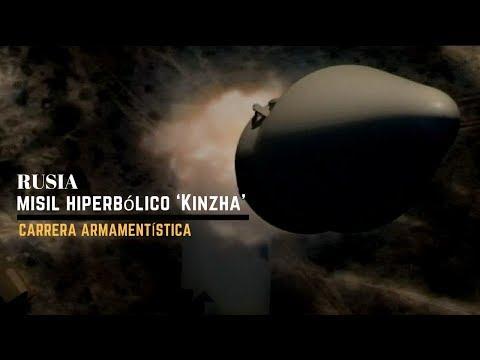 Rusia prueba el misil hipersónico Kinzha con el punto de mira en EEUU.