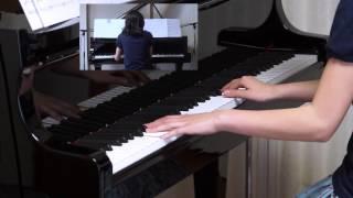 2015年4月25日 録画、 使用楽譜;月刊ピアノ 2015年5月号.