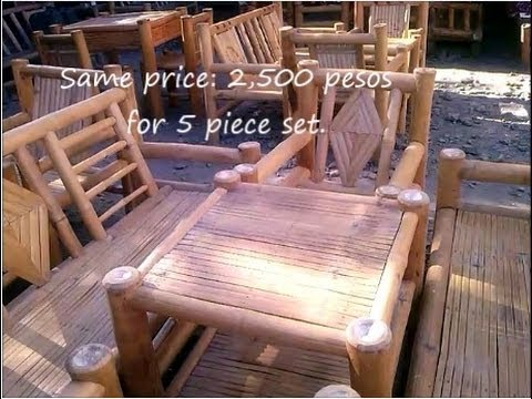 Bamboo Furniture, in the Philippines