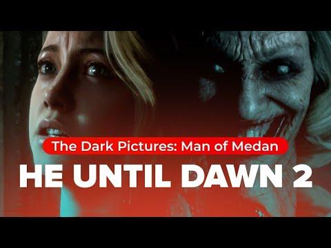 [Все концовки] The Dark Pictures: Man of Medan [кооператив]