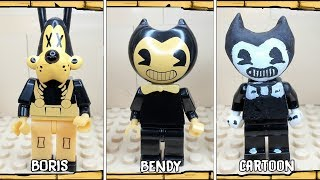 All Characters Lego Bendy and the Ink Machine