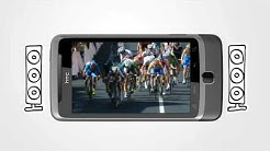 HTC Desire Z -liukunäppis-Android-puhelin (tuote: 360150)