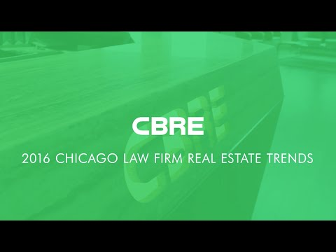 CBRE Chicago Law Firm Trends