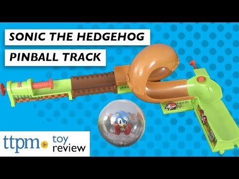 Sonic The Hedgehog Pinball Track Set From Jakks Pacific