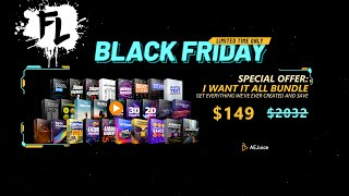 AeJuice BLACK FRIDAY SALE! I Want it ALL Bundle Review! | Film Learnin