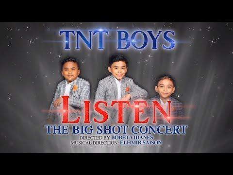 TNT Boys LISTEN: The Big Shot Concert on November 30
