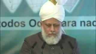 Friday Sermon : 2nd April 2010 - Part 1 (Urdu)