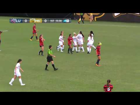 UMBC Women's Soccer vs Liberty Highlights 8/25/16