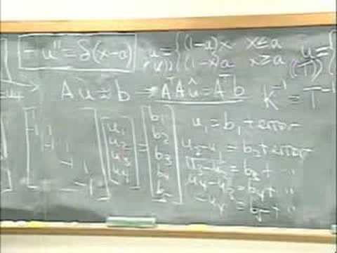 Lec 10 | MIT 18.085 Computational Science and Engineering I