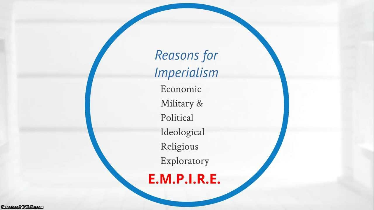 WHAT ARE SOME SOCIAL MOTIVES FOR EUROPEAN IMPERIALISM !!?