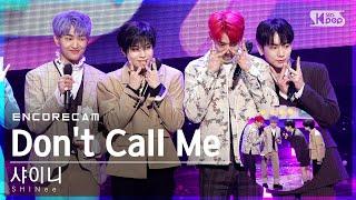 [앵콜CAM] 샤이니 'Don't Call Me' 인기가요 1위 앵콜 직캠 (SHINee Encore Fancam) | @SBS Inkigayo_2021.03.07.