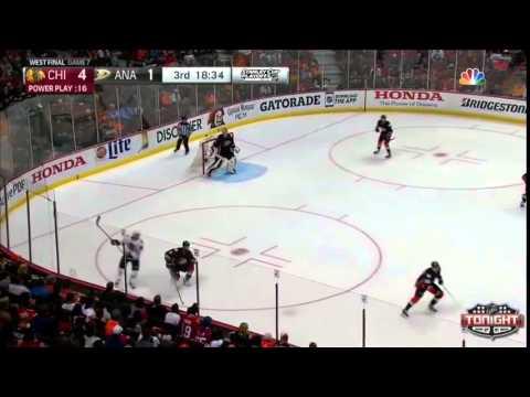 Chicago Blackhawks at Anaheim Ducks game 7 WCF 5-3