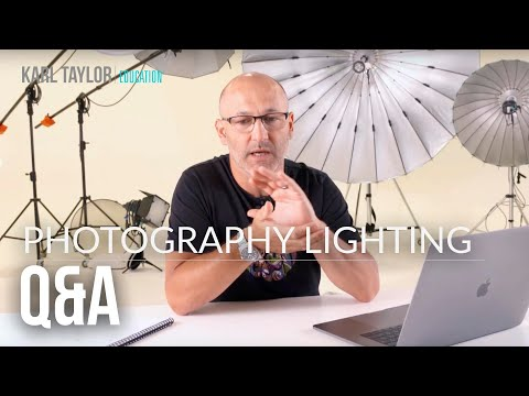 Your photography questions - PLUS lots of talk on photography lighting.