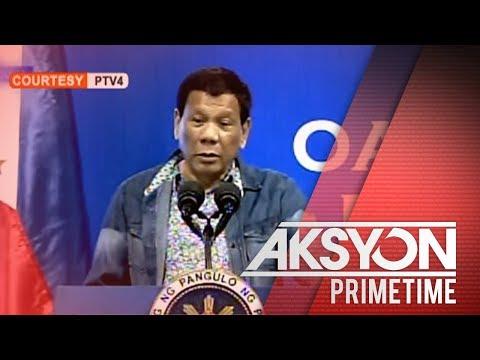 'Kung gusto ng away...bigyan ng away.' - Pres. Duterte