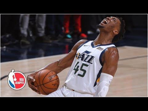 None - Donovan Mitchell Leads Jazz to Game Four Win