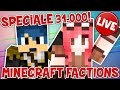 Live Speciale 31/32k Iscritti - Minecraft Factions + Roblox!