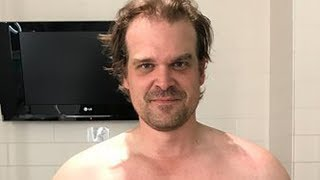 David Harbour\'s Intense Body Transformation To Become Hellboy