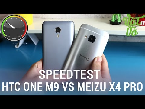 Vật Vờ| So sánh hiệu năng HTC One M9 và Meizu MX4 Pro: Exynos 5430 vs Snapdragon 810