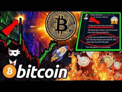BITCON BULLS FIGHT BACK!! MASSIVE MOVE IMMINENT!? The TRUTH About $BTC VOLUME