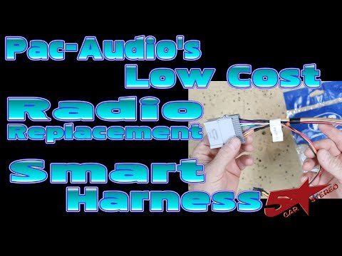 Pac Audio's Low Cost radio replacement smart harnesses