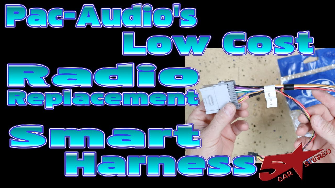 Pac Audio\'s Low Cost radio replacement smart harnesses - YouTube