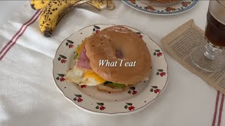 [ 강남새댁 일상 vlog ] 베이글 햄치즈 샌드위치,…