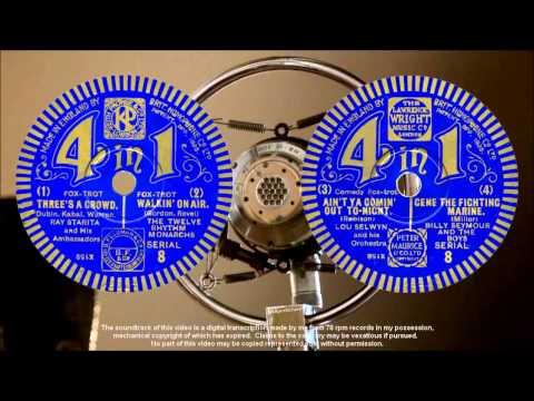 4-in-1 number 08 (1932) Ray Starita + 'Nat' Star + Fred Douglas