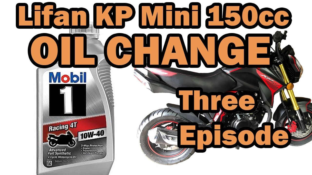 Lifan KP Mini 150cc - HOW TO DO AN OIL CHANGE