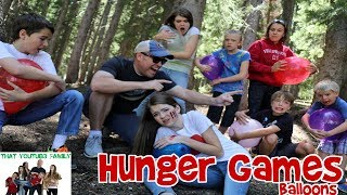 HUNGER GAMES BALLOON WAR / That YouTub3 Family streaming