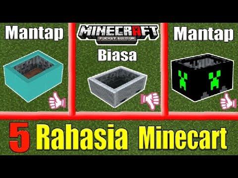 5 Hal Yang Mungkin Belum Kalian Ketahui Tentang Minecart | MinecraftPE