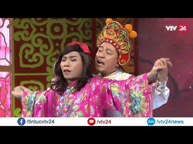 Khi ca sĩ Tuấn Hưng vào vai Thiên Lôi trong Táo Quân   VTV24