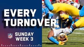 Every Turnover from Sunday Week 3 | 2021 NFL Highlights