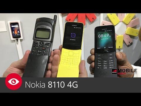 Inne rodzaje Nokia 8110 4G (MWC 2018) - YouTube LZ55
