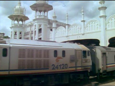 Des trains pas comme les autres - Thaïlande, Malaisie, Singapour Express 04/08/91